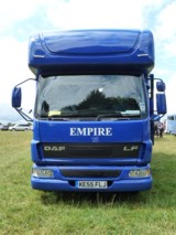 New 2014 horsebox courtesy of Empire Coachbuilders
